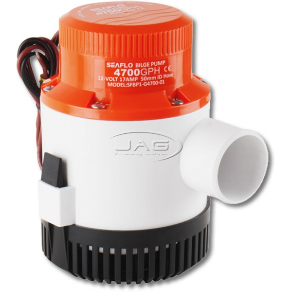 Seaflo 12V 4700 GPH Submersible Bilge Pump