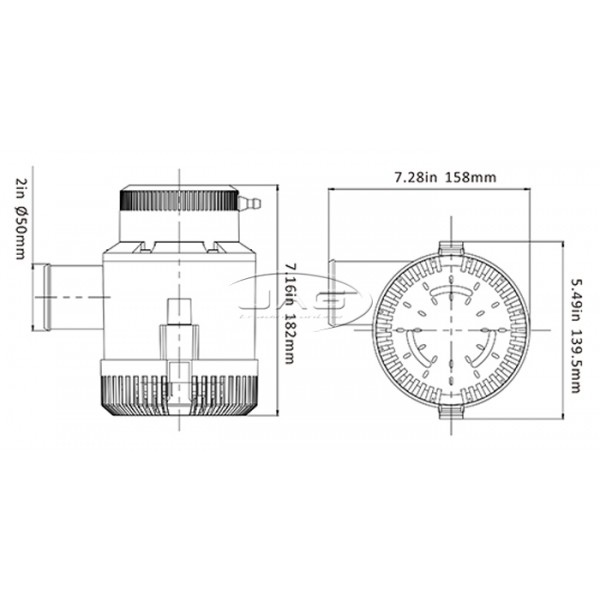 Seaflo 12V 4700 GPH Submersible Bilge Pump