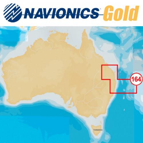 Navionics+ Gold Small 8G164S Eastern Australia Chart