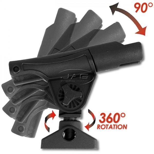 Kayak Adjustable 360º Swivel Rod Holder