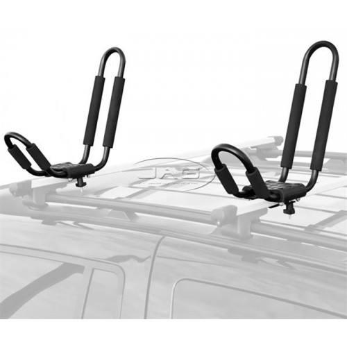 Roof Rack Mount Kayak Carrier - J-Style Fixed