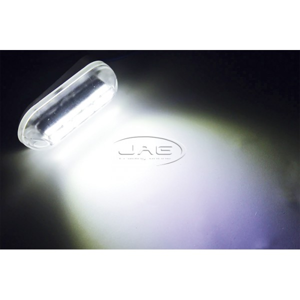12V White 6-LED 3W Underwater Boat Transom Light 3.5""