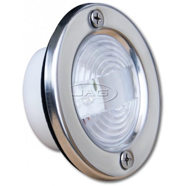 12V 4-LED Stainless Steel Cockpit Transom Light
