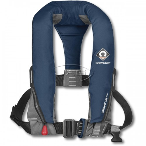 Crewsaver Automatic With Harness Crewfit 165 Sport Auto Inflatable PFD - Navy Blue