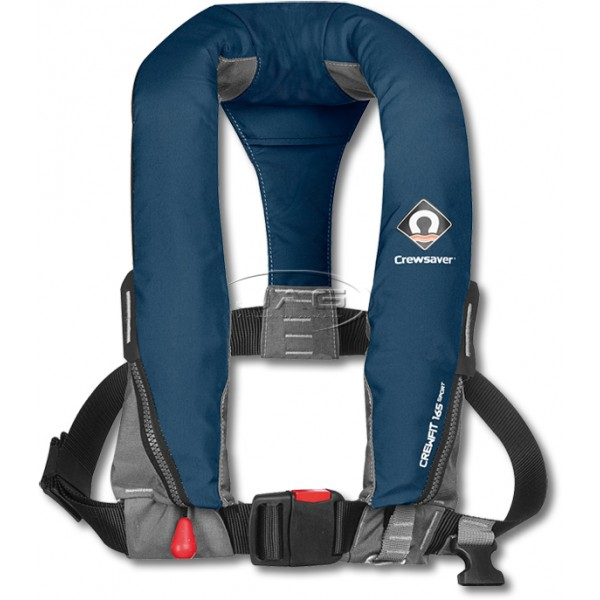 Crewsaver Crewfit 165 Sport Manual Inflatable PFD 165N - Navy Blue