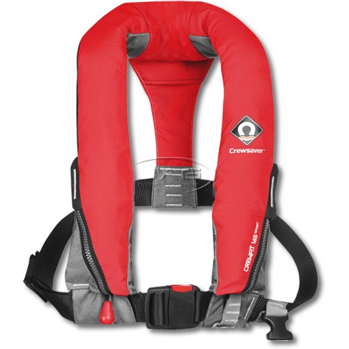 Crewsaver Crewfit 165 Sport Manual Inflatable PFD 165N - Fiery Red
