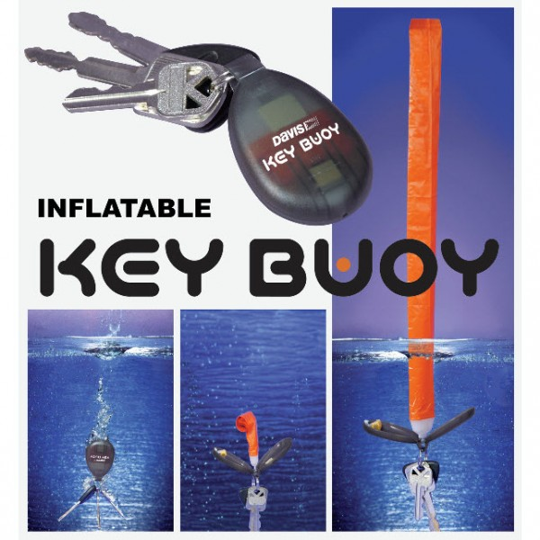 Self-Inflating Floating Key Ring Buoy