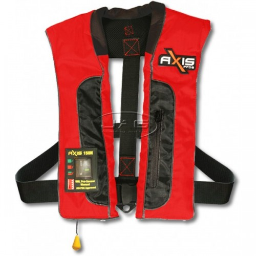 Axis Offshore PRO Mk2 Red Inflatable 150N PFD