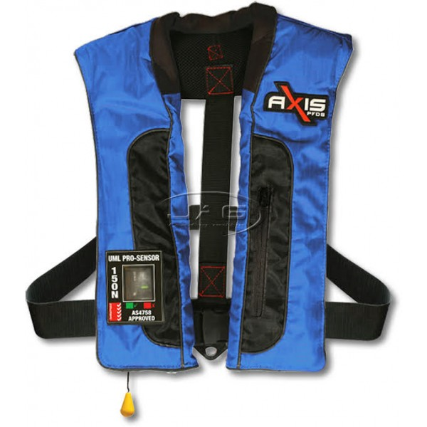 Axis Offshore PRO Mk2 Blue Inflatable 150N PFD