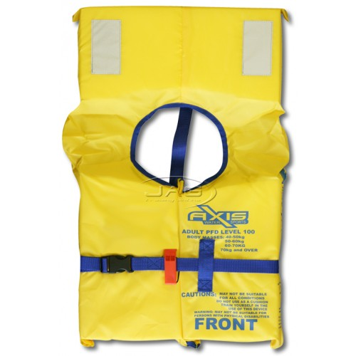 Axis Standard Adult PFD 1 Lifejacket Level 100N