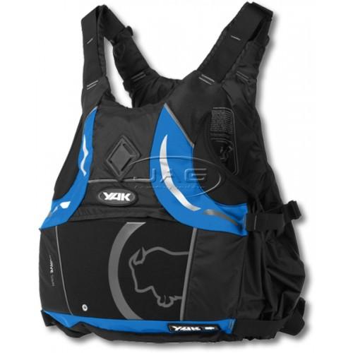 YAK Kurve Black/Blue 55N Adult S/M 40-70kg Buoyancy Aid PFD