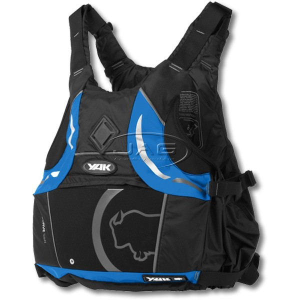 YAK Kurve Black/Blue 55N Adult S/M 40-70kg Buoyancy Aid PFD