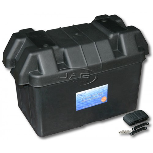 27M Large Battery Box & Strap