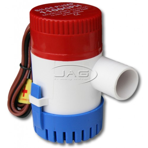 12V 1100 GPH Submersible Bilge Pump