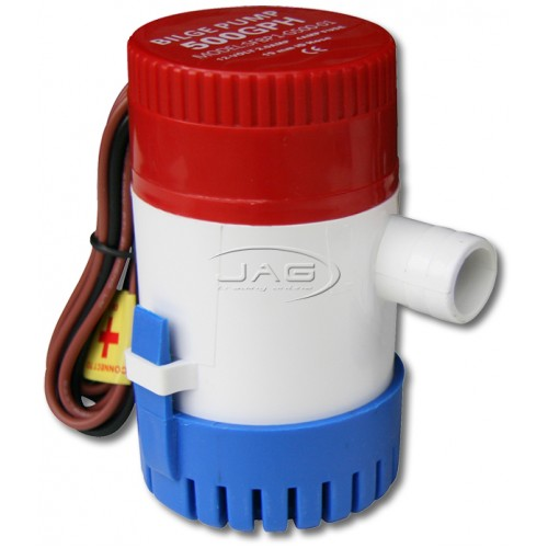 12V 500 GPH Submersible Bilge Pump
