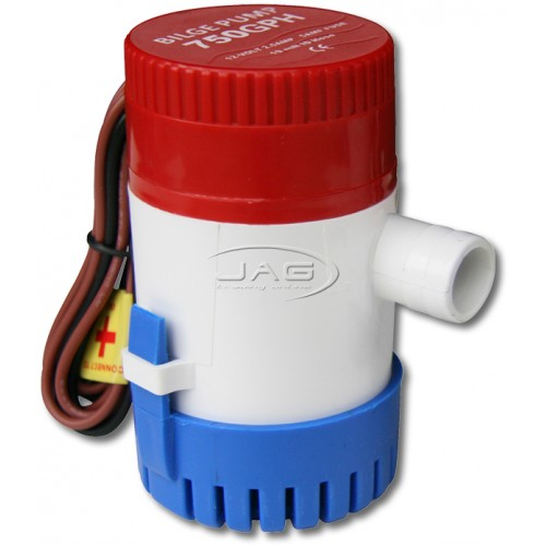 12V 750 GPH Submersible Bilge Pump