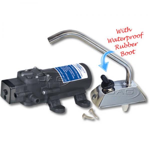 AquaTrack 12V Self-Priming Galley Pump with Faucet Tap