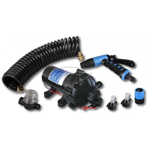 12V Washdown Pump Kit 19 L/Min 70 PSI Deck Wash