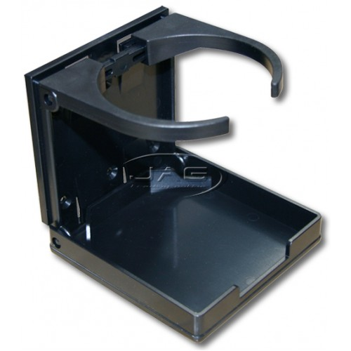 Black Adjustable Folding Drink Holder