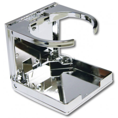 Chrome Adjustable Folding Drink Holder