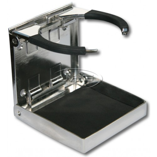 Stainless Steel Adjustable Folding Drink Holder
