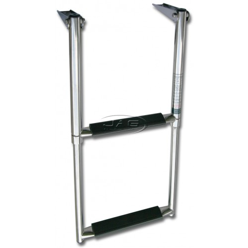 316 Stainless Steel 2 Step Telescopic Boat Ladder