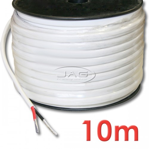 10M x 2mm Tinned Marine Grade Twin Core Wire