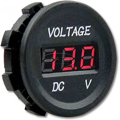 12V~24V DC LED Digital Voltmeter - Battery Test Voltage Meter