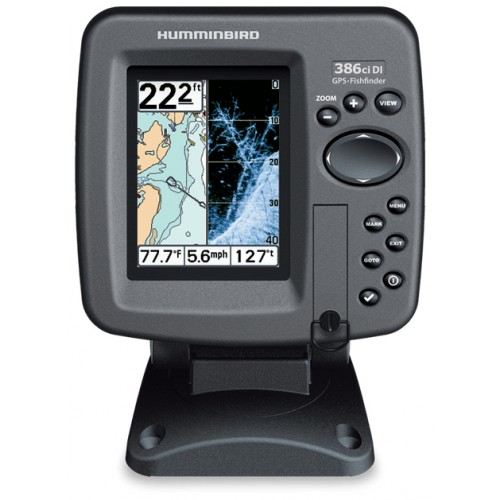 Humminbird 386cxi DI Colour Fishfinder & GPS Combo (with Down Imaging)