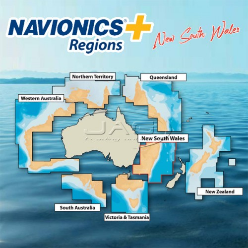 Navionics+ Regions New South Wales / NSW Australia Chart