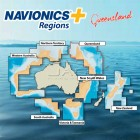 Navionics+ Regions Queensland / QLD Australia Chart