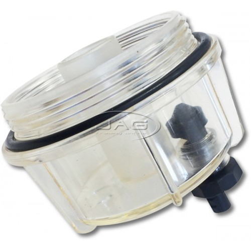 Clear Bowl & Drain Only - Suits Filter Water Separator