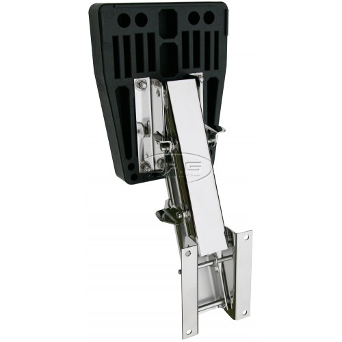 Stainless Steel Outboard Motor Bracket - Up To 10 HP