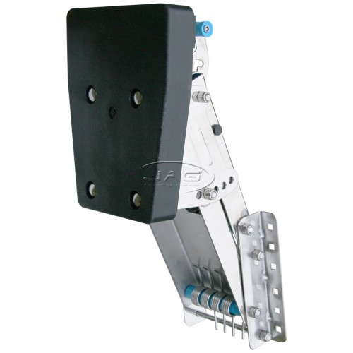 Stainless Steel Outboard Motor Bracket - Up To 20 HP