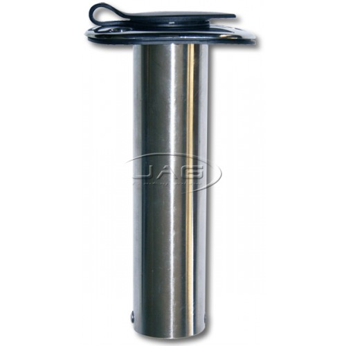 316 Stainless Steel 90° Straight Rod Holder & Cap