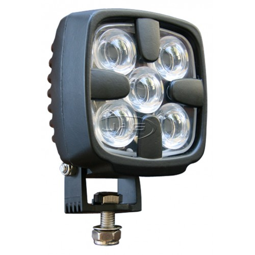10V~30V 15W (5*3W) CREE LED Work Lamp Black