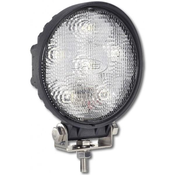 10V~30V 18W (6*3W) LED Round Work Lamp