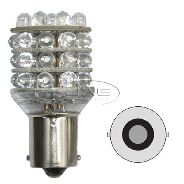 12V 36-LED T25 BA15S 1156 White Globe