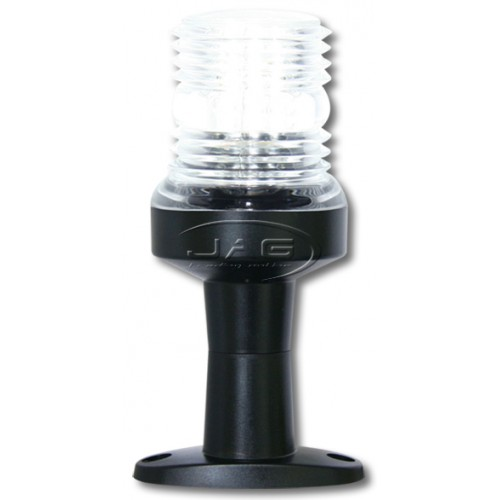 "12V 36-LED 5"" Deluxe Pedestal Anchor Light"