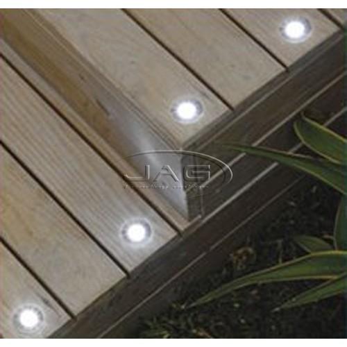 10 x LED Accent Courtesy Deck Lights White
