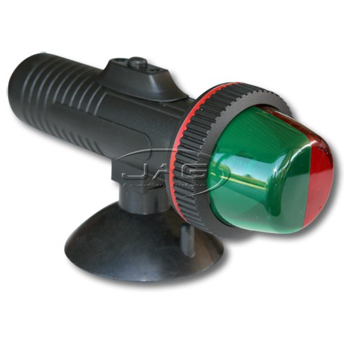LED Suction Cup Mount Bi-Colour Navigation Light - Battery Operated