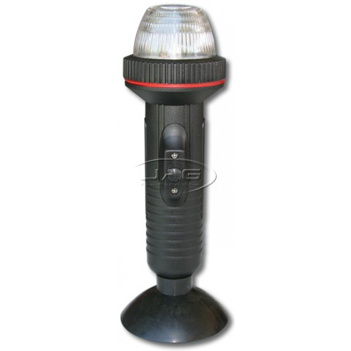 LED Suction Cup Mount Anchor Stern Light - Battery Operated