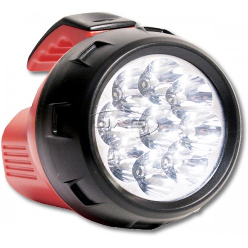 9-LED Waterproof Compact Floating Flashlight Torch