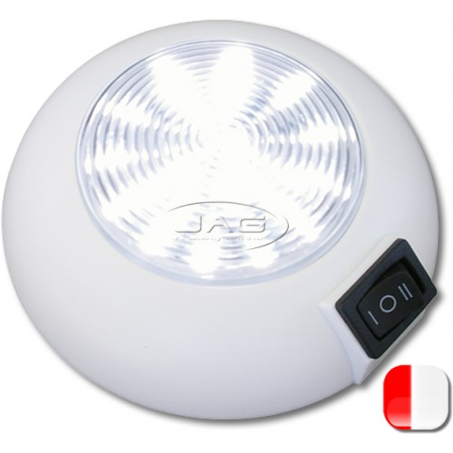 12V 21 Red/White LED Cabin Dome Light