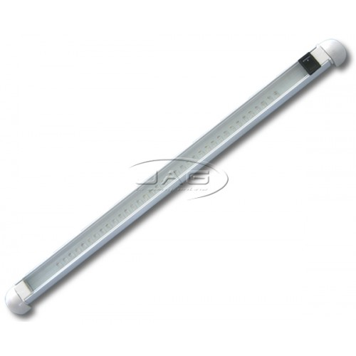12V 36-LED White Aluminium Swivel Lamp