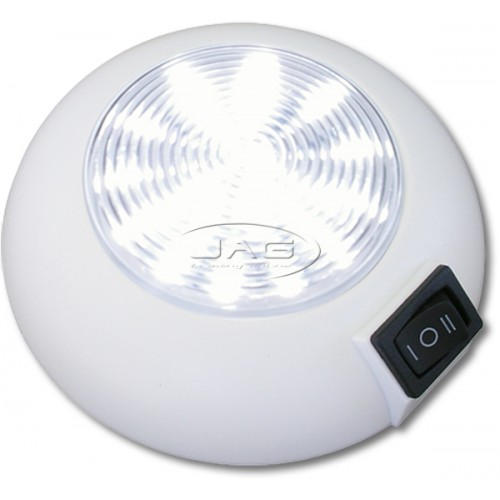 12V 9/12-LED White Cabin Dome Light