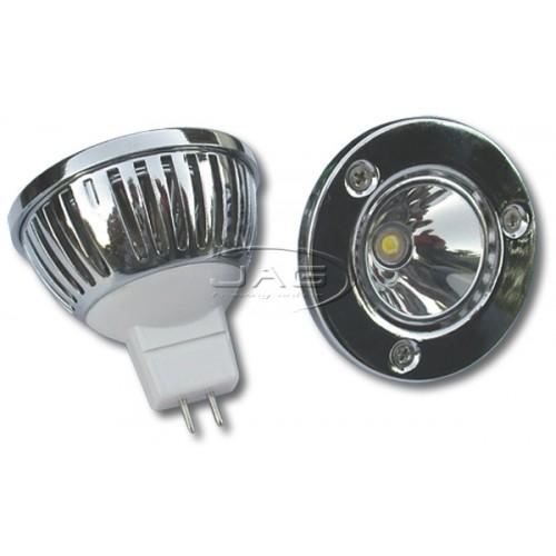12V MR16 3W Luxeon LED Cool White Globe
