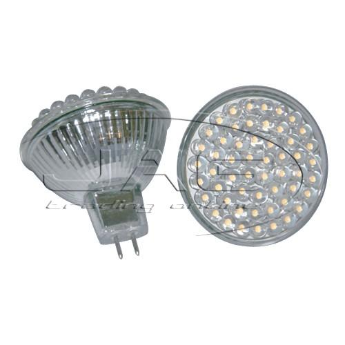 12V MR16 54-LED Cool White Globe