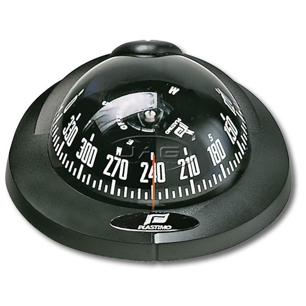 Plastimo Offshore 75 Black Flush Mount Compass