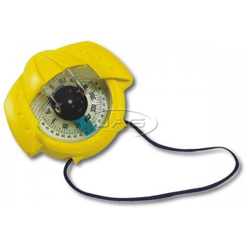 Plastimo Iris 50 Yellow Hand Bearing Compass